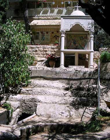 Лестница библейских времен в монастыре